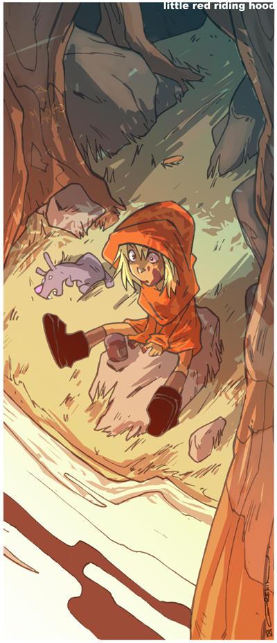 Little Red Riding Hood by ArtofGrelin