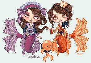 Daria and Moni's Mermaids