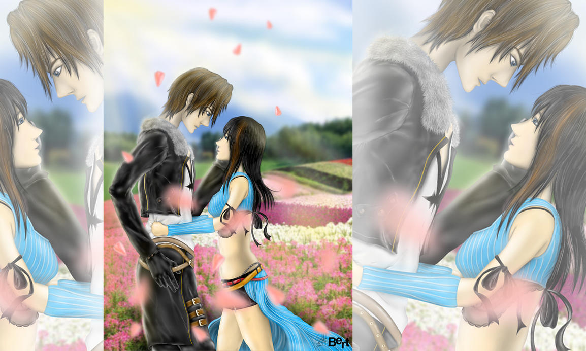 Squall And Rinoa By Robertsen On DeviantArt
