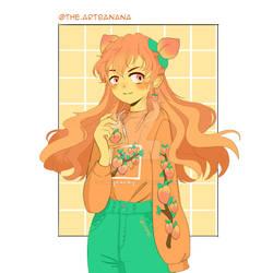 Bobatae's DTIYS Challenge: Peachy Girl