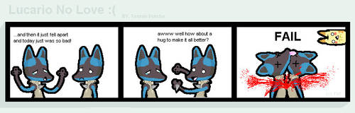 Lucario No Love- Pokemon Comic by ThistleWitch