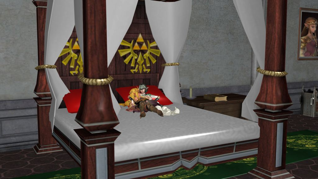 MMD Zelda  Dragon Age 2 Room by Entzminger500