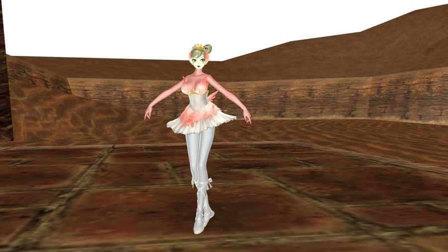 MMD TDA Ballet Base Download by Entzminger500
