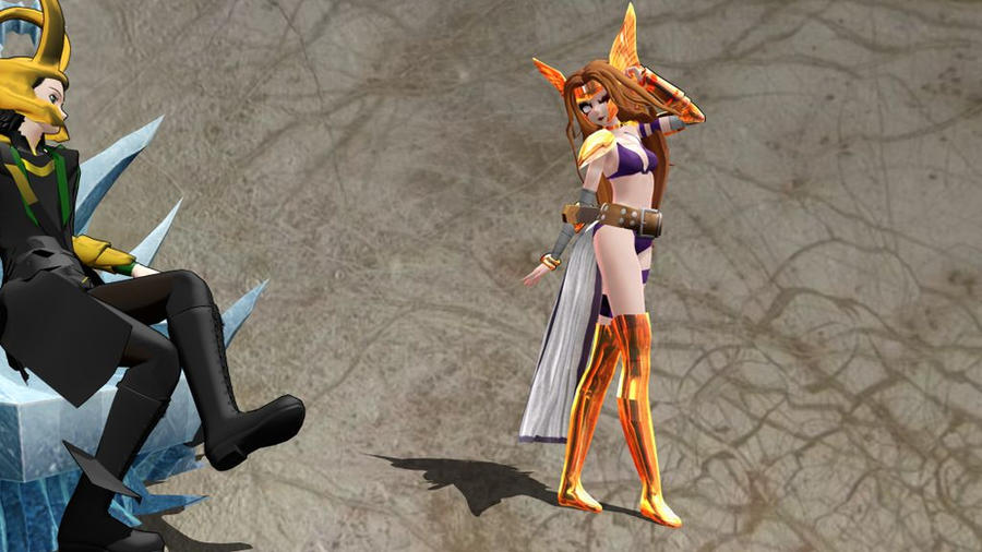 MMD TDA Marvel Angela Download by Entzminger500