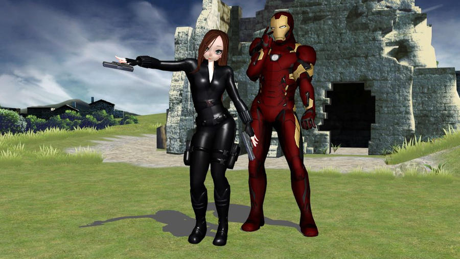 MMD  TDA Black Widow (Movie)Download by Entzminger500