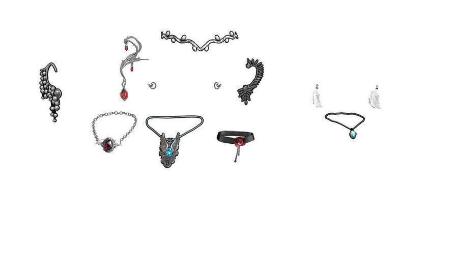 MMD skyrim Jewellery 1 Download by Entzminger500