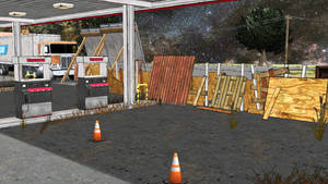 MMD Truckstop Exterior