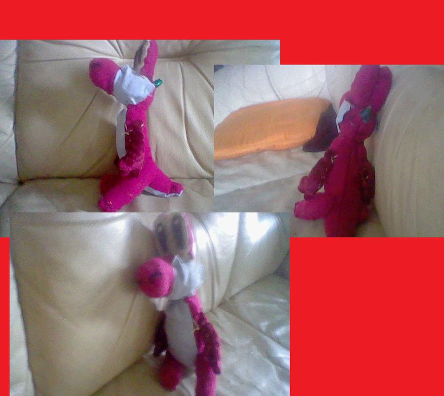 Yoshi plushie wip by ded fire dragon on deviantart for Yoshi plush template