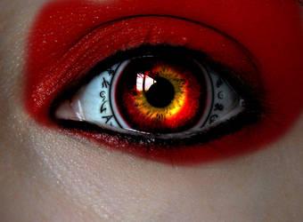 Dark Witch Eye by asdfgfunky
