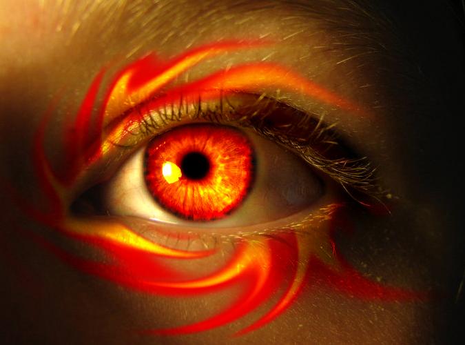 Fire Witch Eye by asdfgfunky on DeviantArt