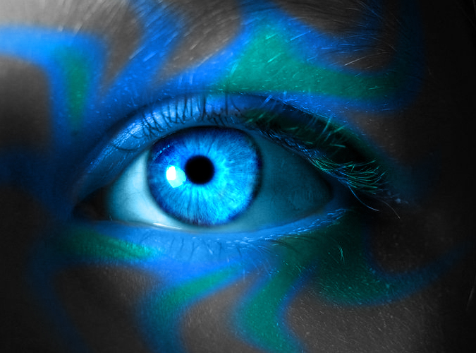 Icy Eyes Icy witch eye by asdfgfunky