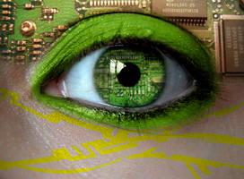 Electronic Eye by asdfgfunky