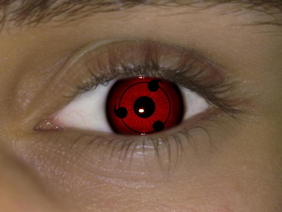 Real Sharingan Eye Contacts Sharingan eye by asdfgfunky