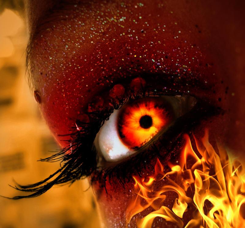 Fire Eye by asdfgfunky