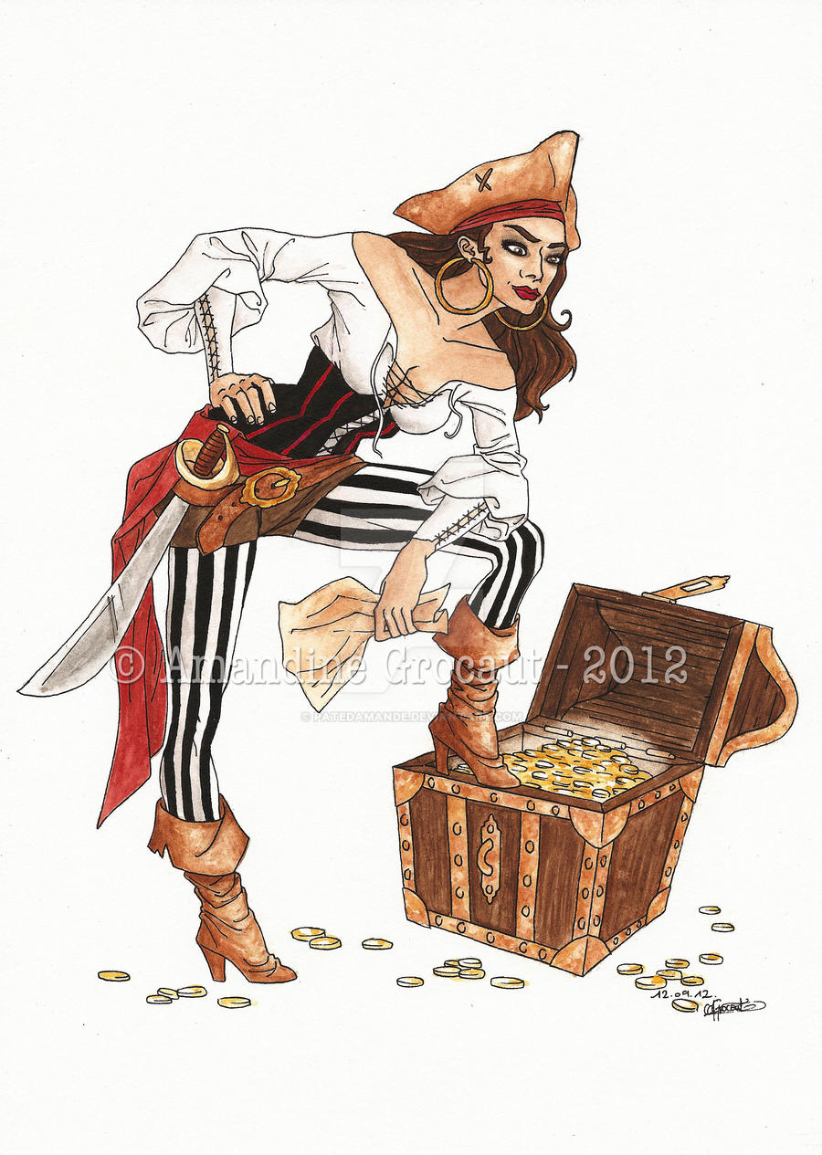 Oo. Yoho, yoho ! A pirate's life for me .oO by patedamande