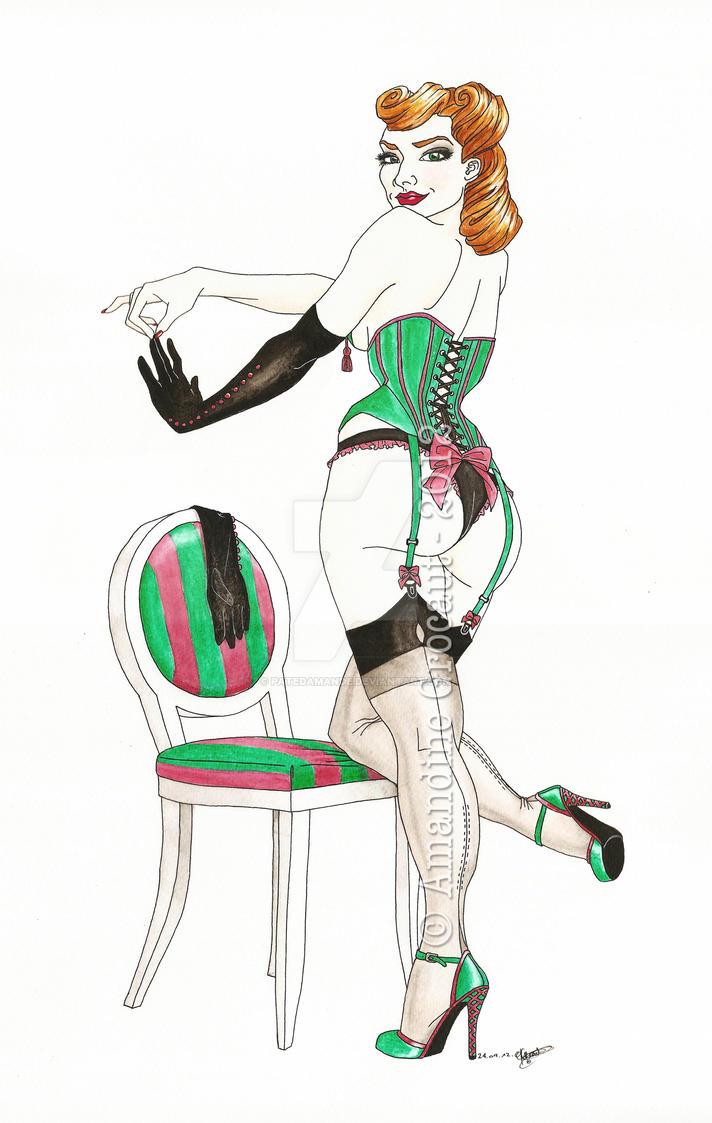 .oO Burlesque Oo. by patedamande