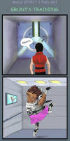 Mass Effect 2 Grunt's training