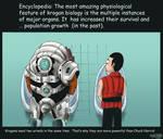 Mass Effect 2 Krogan biology
