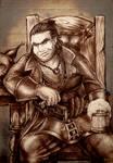 Dragon Age 2 Varric Tethras