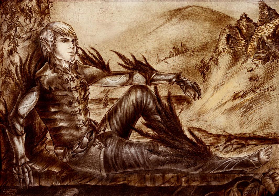 Fenris, Dragon Age 2 by Agregor