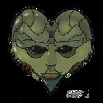 Mass Effect 2 Thane Valentine card