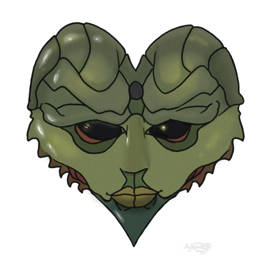 Mass Effect 2 Thane Valentine card by Agregor