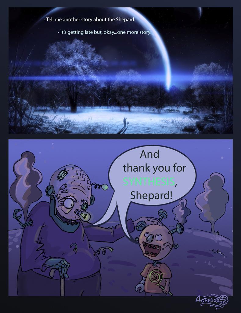 Mass Effect 3 Green Ending