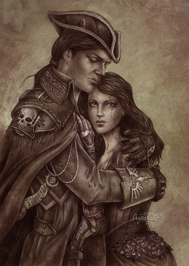 Cyric Rune and Sierra comm by Agregor