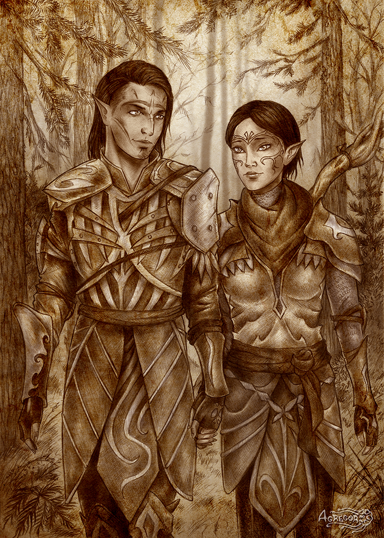 dragon_age__merrill_and_mahariel_by_agre