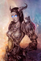 WOW Draenei Paladin by Agregor