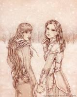 Kileanna and Argentea by Agregor
