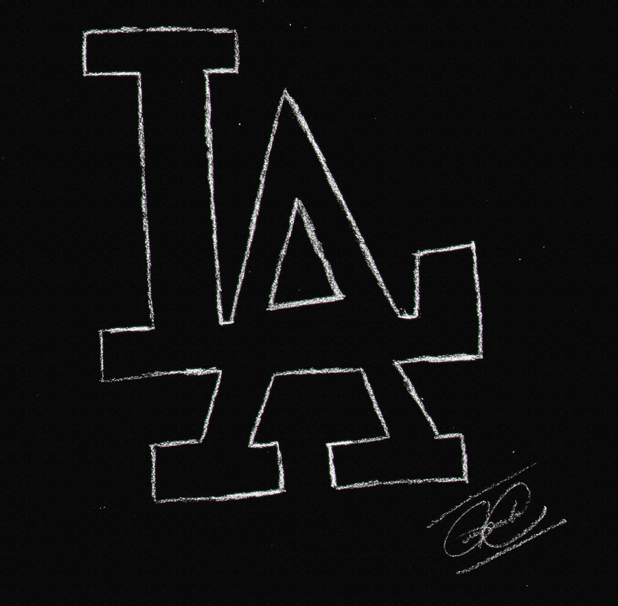 LA Dodgers Logo By Guilhermeklein