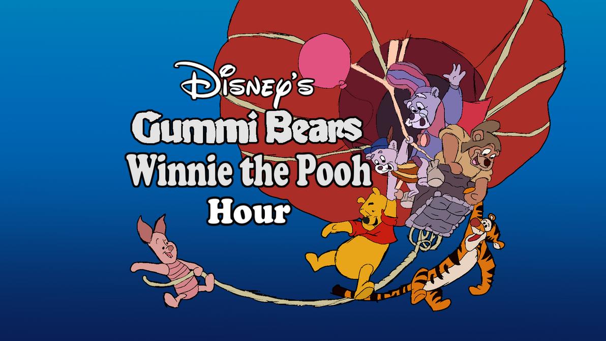 gummi bears/winnie the pooh hour logo in hdnicotoonz on deviantart
