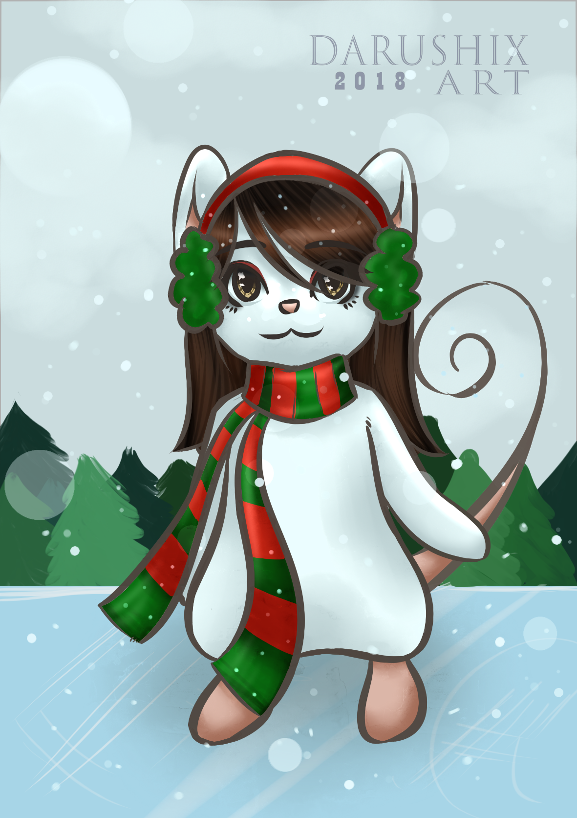Merry Christmas 2018 by DaruFuenmayor