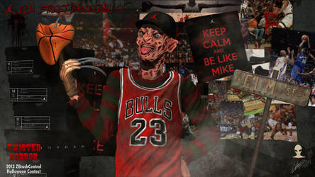 Elm Street Basketball by Aliengraphic