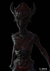 Female Demon #2 by Aliengraphic