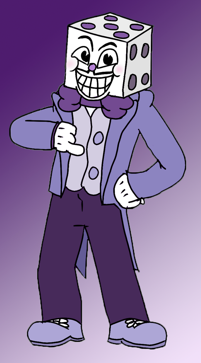 how to draw king dice