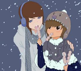 Winter love by adwinffel