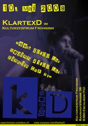 Flyer for Klartexd by Ikarus89
