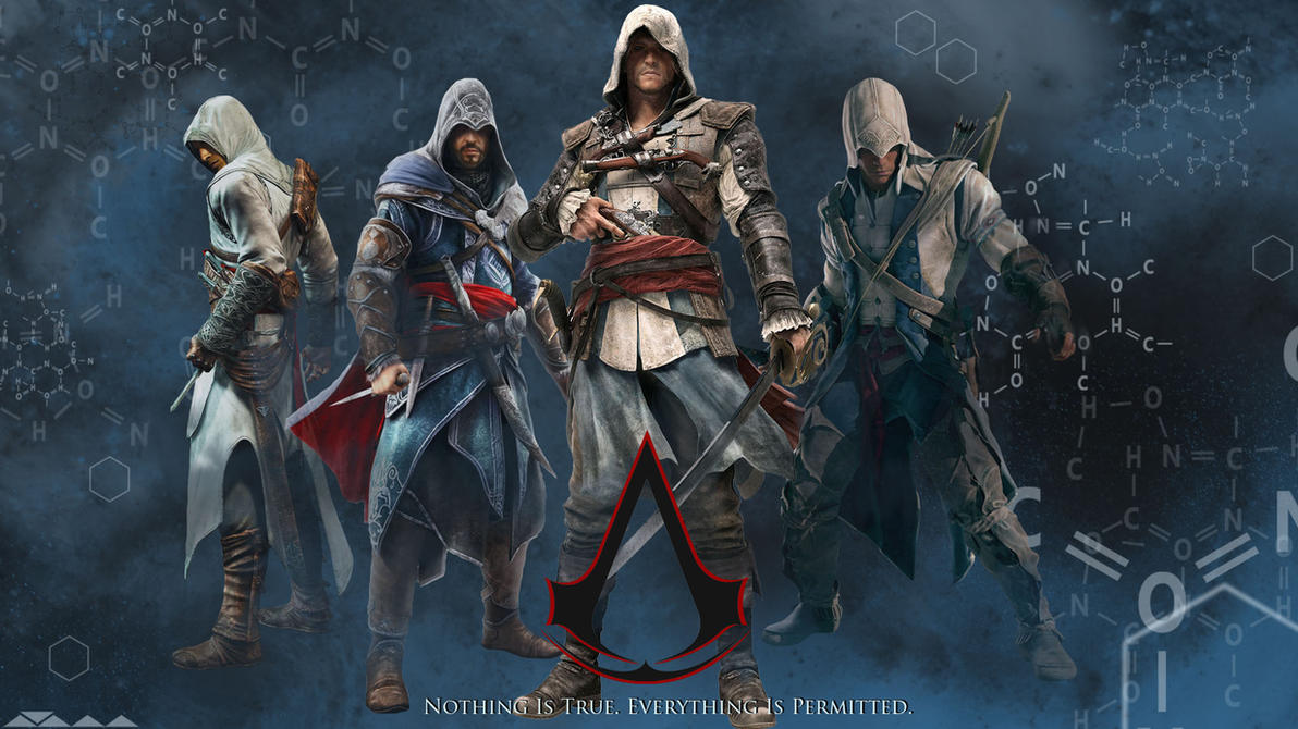 Assassins Creed Series Wallpaper by IFlaberGastedI on ...