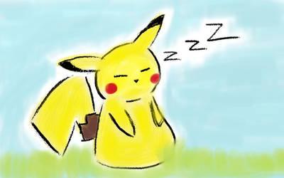 Pikachu's Sleepy~