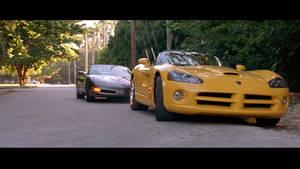 2 Fast 2 Furious - Viper and Corvette