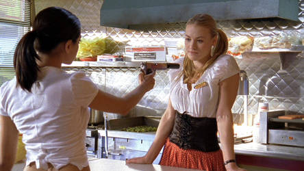 Chuck - Sarah and Lizzie