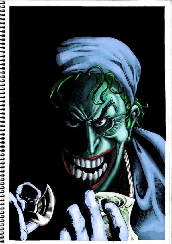 Joker WIP by FATRATKING