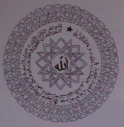 Islamicart-Surah Fatihah by FATRATKING
