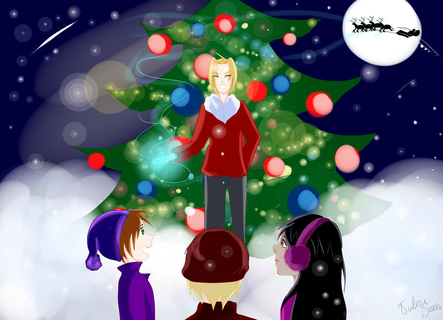 Christmas miracle by artistYah