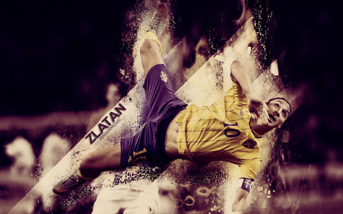 Zlatan-Ibrahimovicwallpaper by Mirrrr