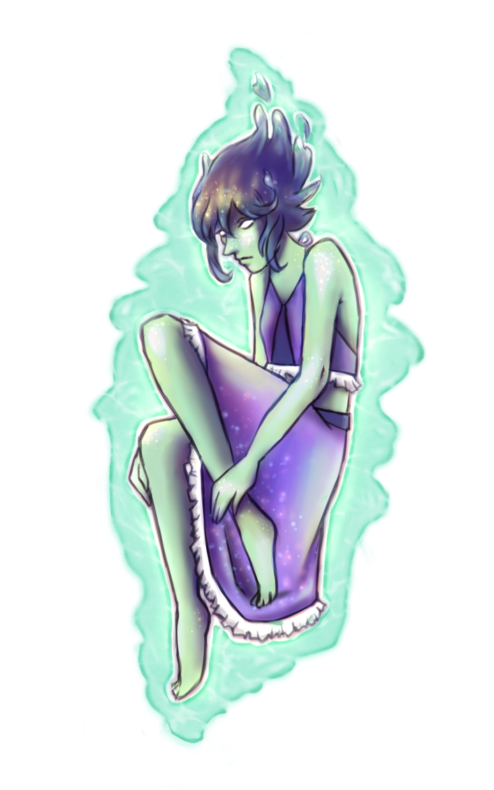 Lapis Lazuli from Steven Universe ~ January 2016