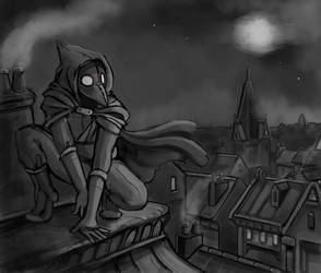 The Night Watcher by Chicken--Scratch