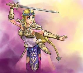 Hyrule Warriors: Zelda by Chicken--Scratch